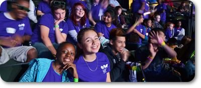 MPS students at We Day