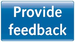 Use this button to open a form to provide feedback