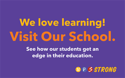 We love learning! Visit Our School.