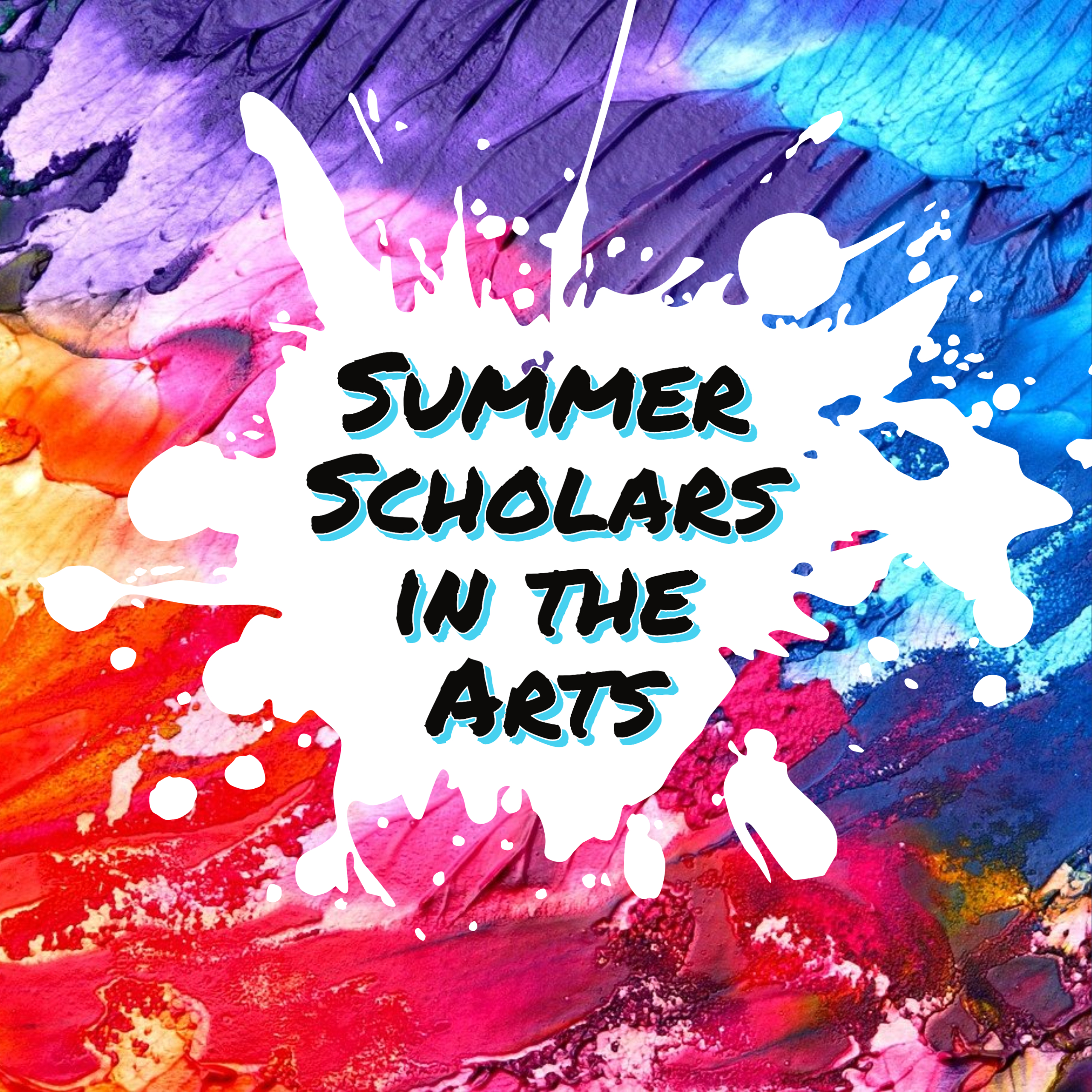 Summer Scholars logo with text saying Explore, Create, and Connect